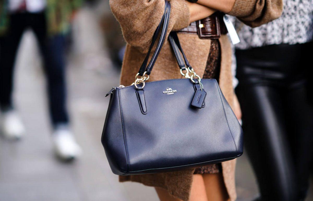 coach tan bag